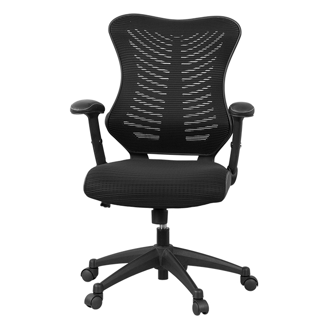 high back black designer mesh executive swivel office chair with mesh