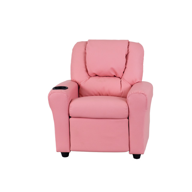 Contemporary Pink Vinyl Kids Recliner with Cup Holder and Headrest [DG-ULT-KID-PINK-GG]  sc 1 st  Recliner City & Contemporary Pink Vinyl Kids Recliner with Cup Holder and Headrest ... islam-shia.org