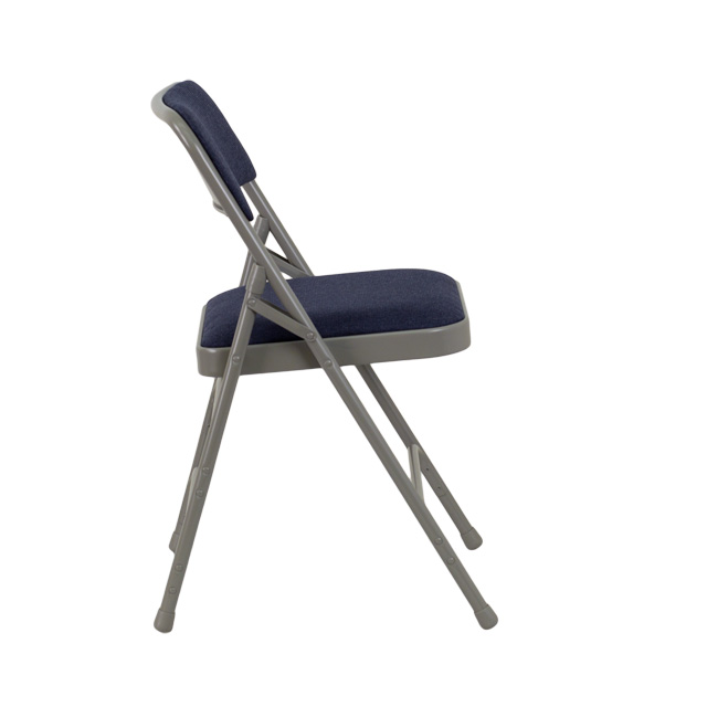Hercules Series Curved Triple Braced Double Hinged Navy Fabric Metal Folding Chair Ha Mc309af Nvy Gg By Flash Furniture Bizchair Com