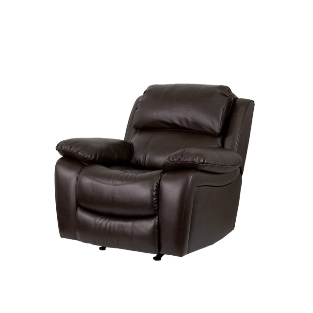 brown leather rocker recliner by flash furniture bizchaircom - Black Leather Recliner