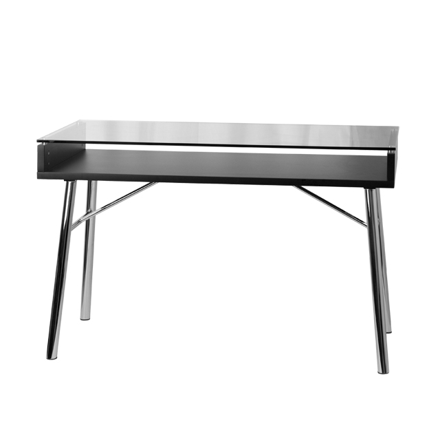 Brettford Desk With Tempered Glass Top Nan Jn 2966 Gg By