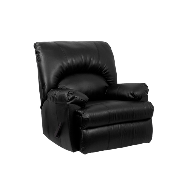 apache black leather rocker recliner wm8500371gg by flash furniture bizchaircom - Leather Rocker Recliner